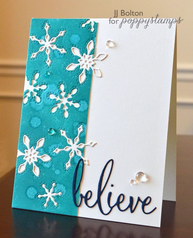 Blog Blitz Featuring Stitched Snowflake Cutoutsby the Poppystamps Design Team