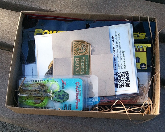 11 best mtb life images on pinterest mystery tackle box for Fishing mystery box