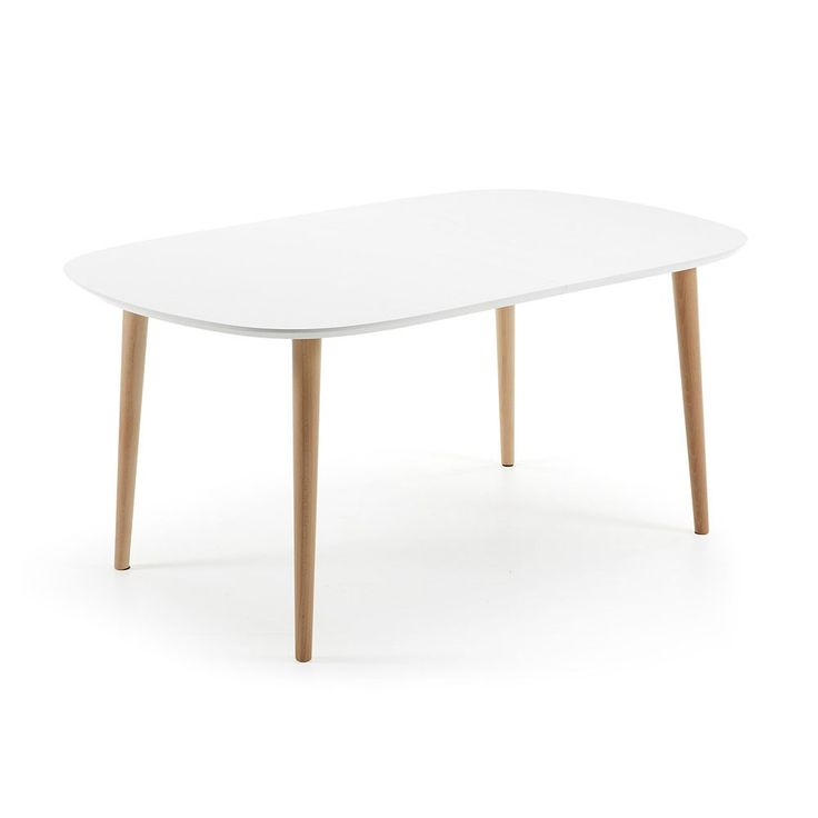 1000 id es propos de table rallonge sur pinterest for Table rectangulaire 160 cm avec rallonge