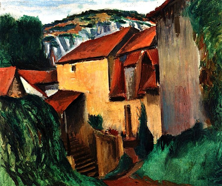 Landscape (1912) / Andre Derain (1880-1954)