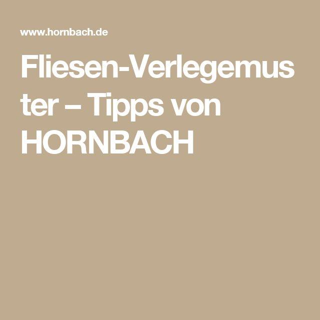 Fliesen-Verlegemuster – Tipps von HORNBACH