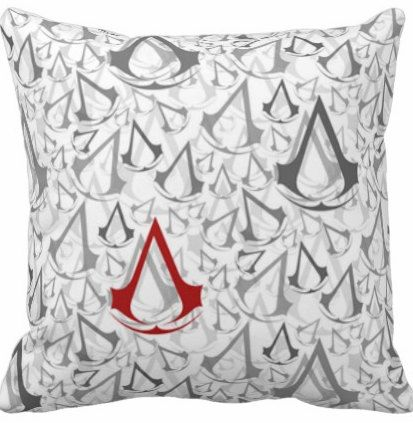 Assassin's Creed Inspired Fan Geek Pillow by FaaanTastic on Etsy, $25.00