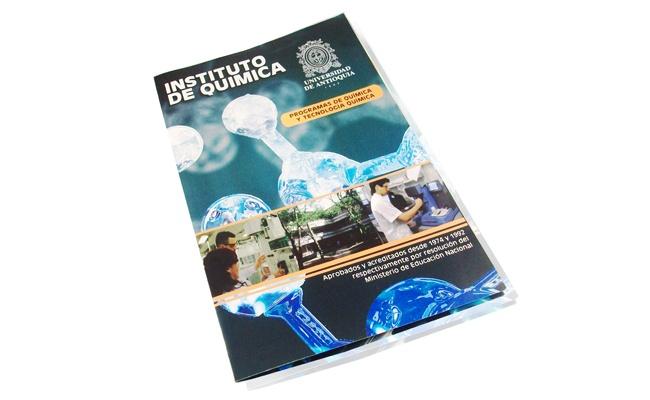 Plegable Instituto de Quimica UdeA