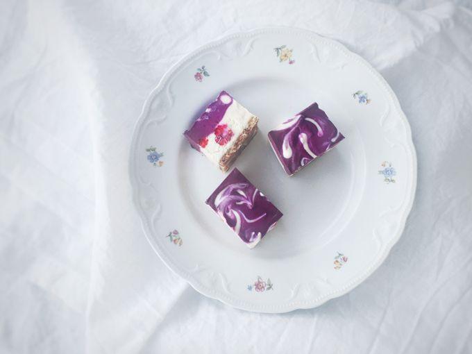 Raaka ja vegaaninen kuningatarleivos by Karita Tykkä