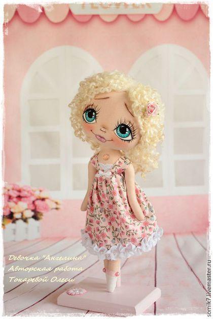 Коллекционные куклы ручной работы.