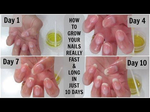 How to grow your nails really fast and long in just 10 days | Mamtha Nair - YouTube