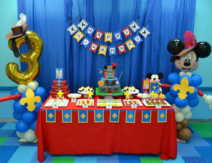 {Mickey Musketeer Party} - Mickey Mouse