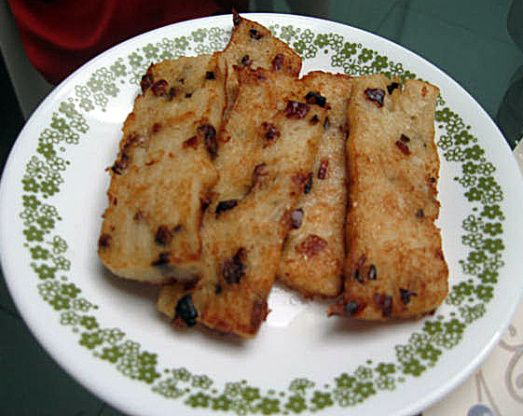 Lo-bak Go - Chinese Radish Cakes Recipe - Chinese.Genius Kitchensparklesparkle