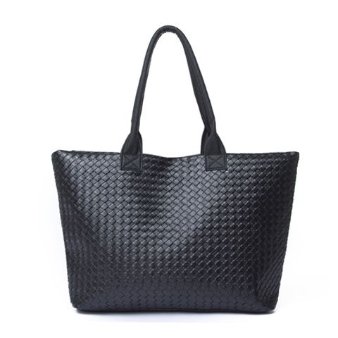 Casual Women's Shoulder Bag With Weaving and Pure Color Design, $26.70