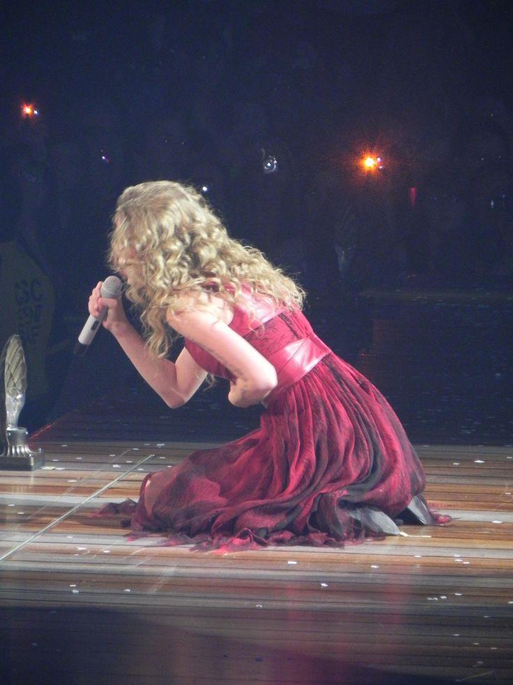Taylor Swift Haunted Speak Now tour.