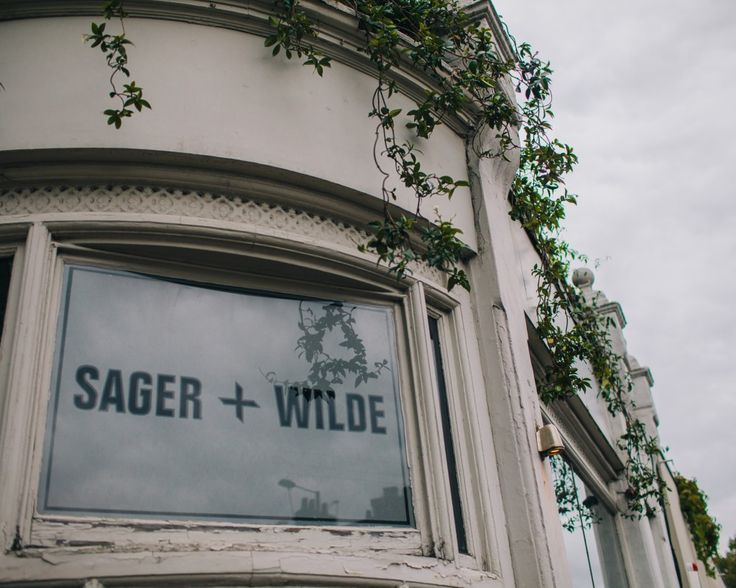 Sager and Wilde wines in Hackney