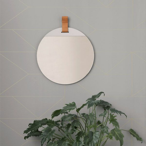 Ferm Living Lines wallpaper, off-white | Wallpapers | Decoration | Finnish Design Shop