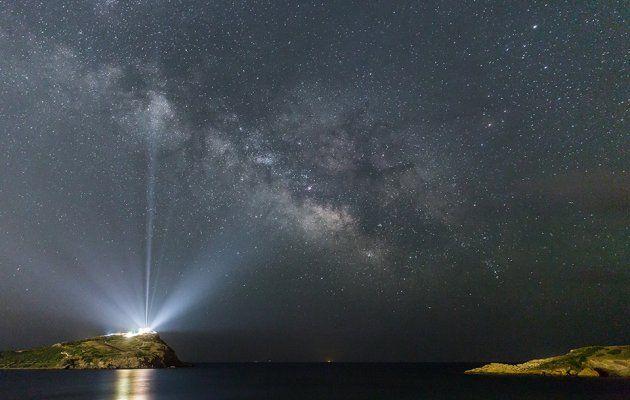 """Αλέξανδρος Μαραγκός """"The Milky Way over the Temple of Poseidon (excerpt)"""""""