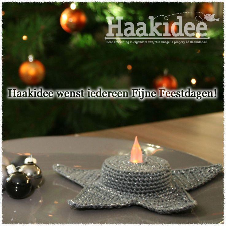 Kerstgroeten en een nieuwtje ;-) – Haakidee