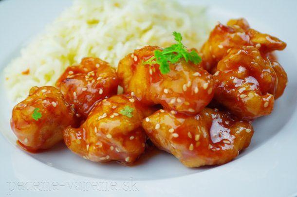 Kuracie kúsky po čínsky v sladkokyslej omáčke | Pečené-varené.sk