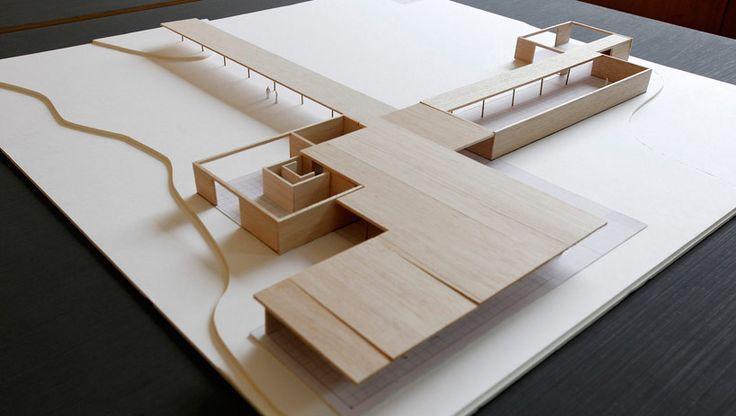 mies-van-der-rohe-golf-club, architectural model, maqueta, modulo