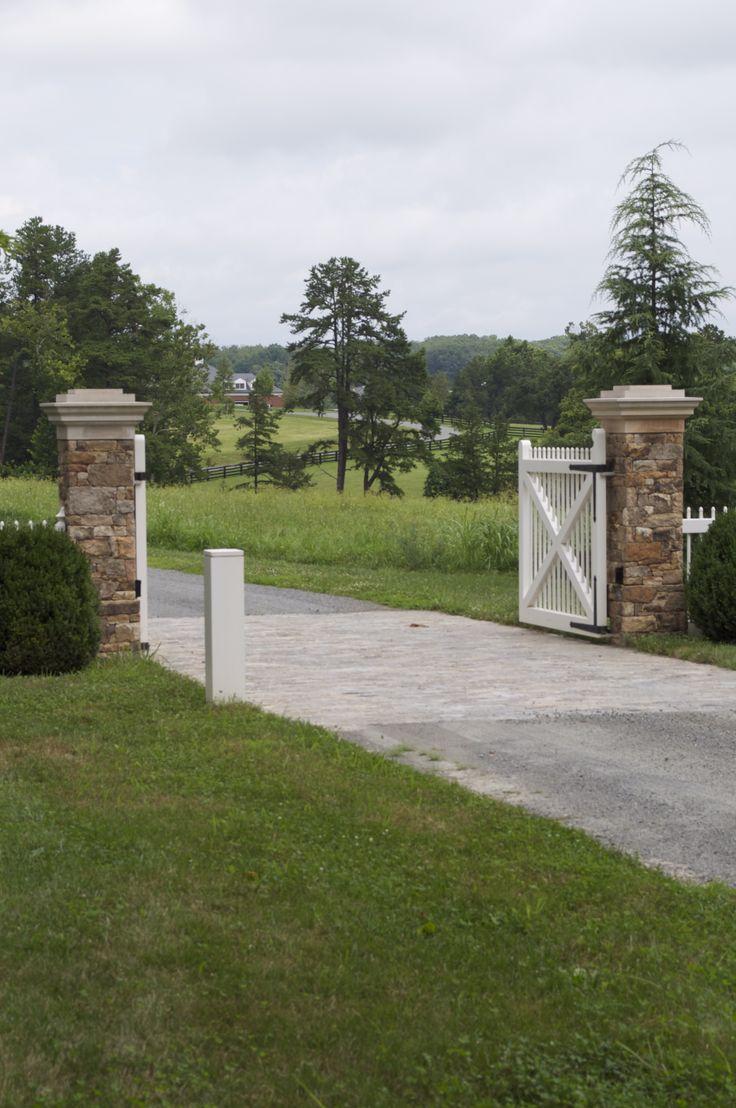 12 Best Residential Amp Farm Gates Images On Pinterest