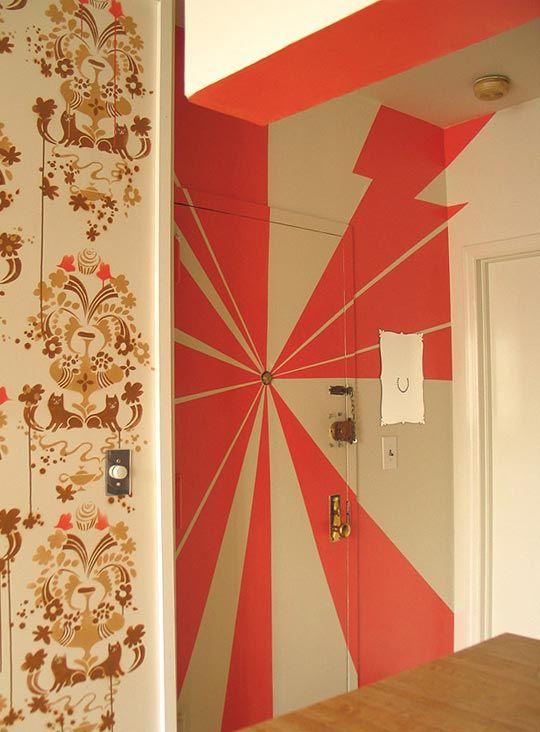26 best images about secret doors on pinterest bold for Interior door paint designs