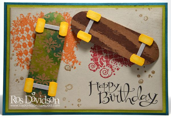 This is made with the stamp set Clockworks and some punches.  Going to try this one!