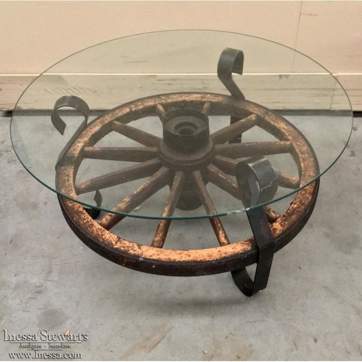 1000 ideas about wagon wheel table on pinterest wagon wheels coffee tables and wagon wheel light Antique wheels for coffee table