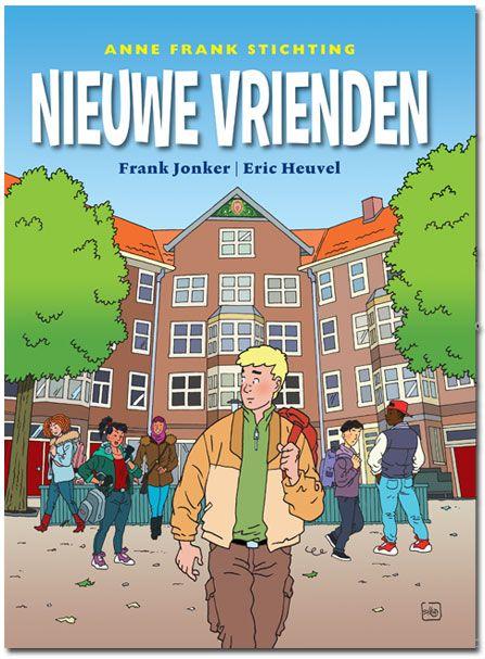 Stripboek over vooroordelen en pesten. Bij het stripboek ontwikkelde de Anne Frankstichting voor het basisonderwijs en voor het voortgezet (secundair) onderwijs een digitale les met uitdagende interactieve opdrachten.