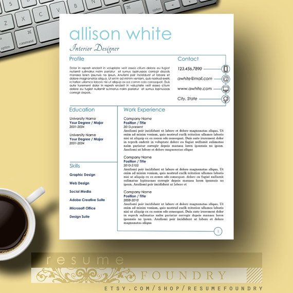 Best Words For Resume 8 Best Application Images On Pinterest  Career Cv Template And .
