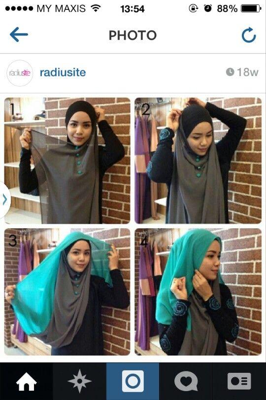 Radiusite :: hijab tutorial.. page 1