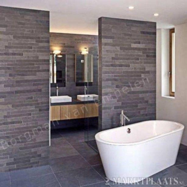 Meer dan 1000 idee n over moza ek badkamer op pinterest keuken wandtegels achterwand tegel en - Kleine badkamer zen ...