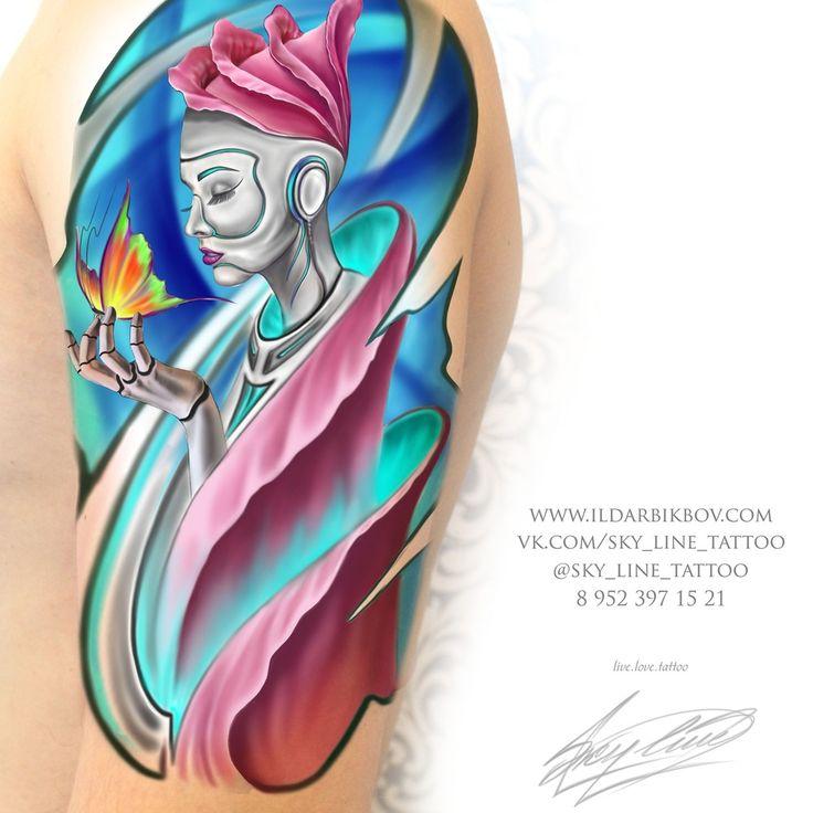 Хотите сделать тату? Советы лучшего тату мастера СПб как сделать правильный выбор: Тату эскизы, тату для девушек, мужские тату, стили татуировок, места для тату, формы татуировок, размеры тату