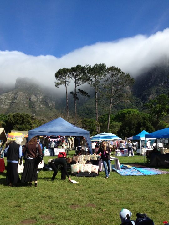 Interesting market between the mointains