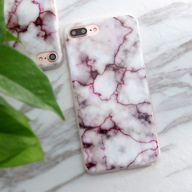 Granite Scrub Marble Stone Painted Phone Case For iPhone