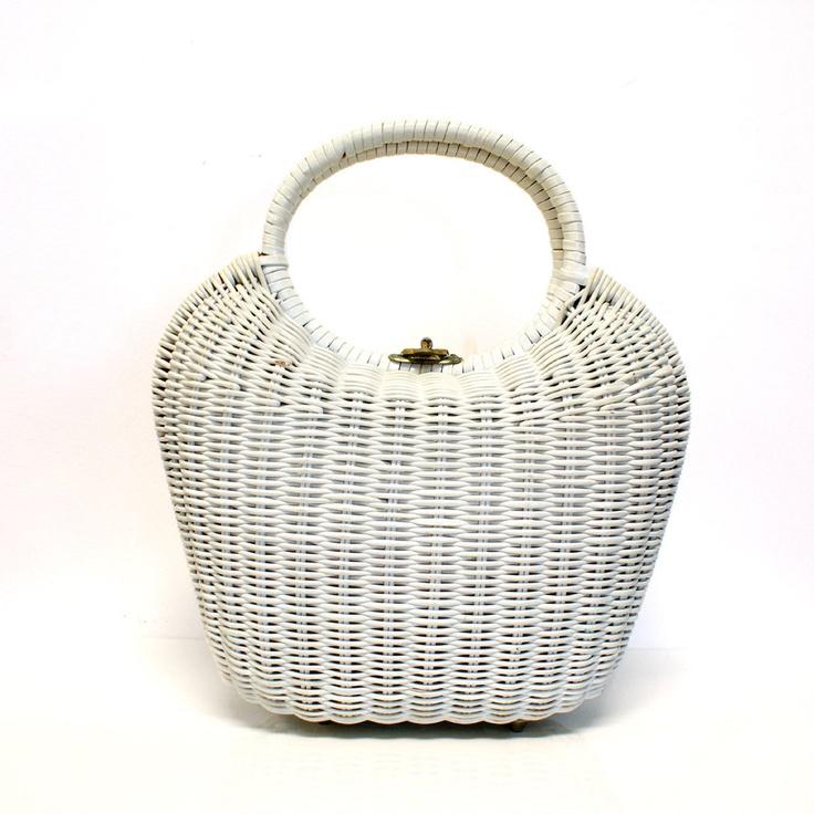 Fab.com | '70s Reed Sculpted Handbag