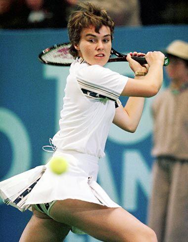 Can tennis star upskirt are