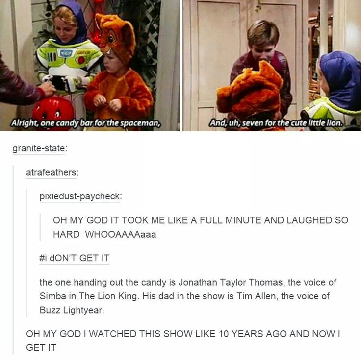 Johnathan Taylor Thomas and Tim Allen on Home Improvement. Tumblr