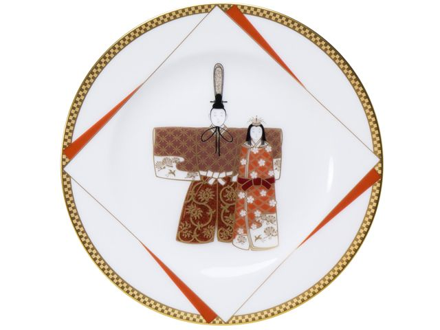 雛祭(ひなまつり) 飾り皿 Plate Hinamatsuri
