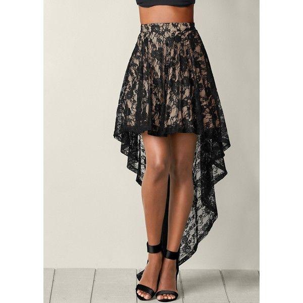 Venus Women's High Low Skirt ($35) ❤ liked on Polyvore featuring skirts, long high low skirt, pink high low skirt, pink hi low skirt, hi low maxi skirt and venus skirts