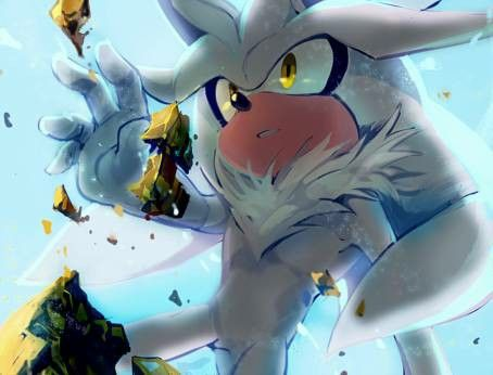 Silver the hedgehog my favorite