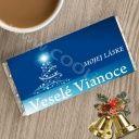 Vianočná čokoláda so želaním - Mojej Láske