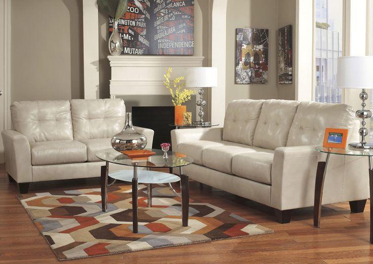 Design Center | La Habra, CA Paulie DuraBlend Taupe Sofa U0026 Loveseat