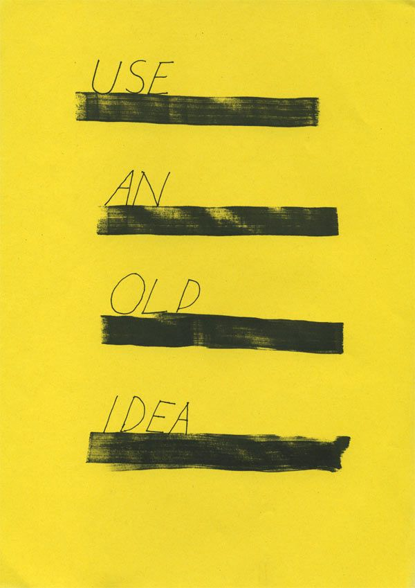 Oblique Strategies by Kalle Matsson