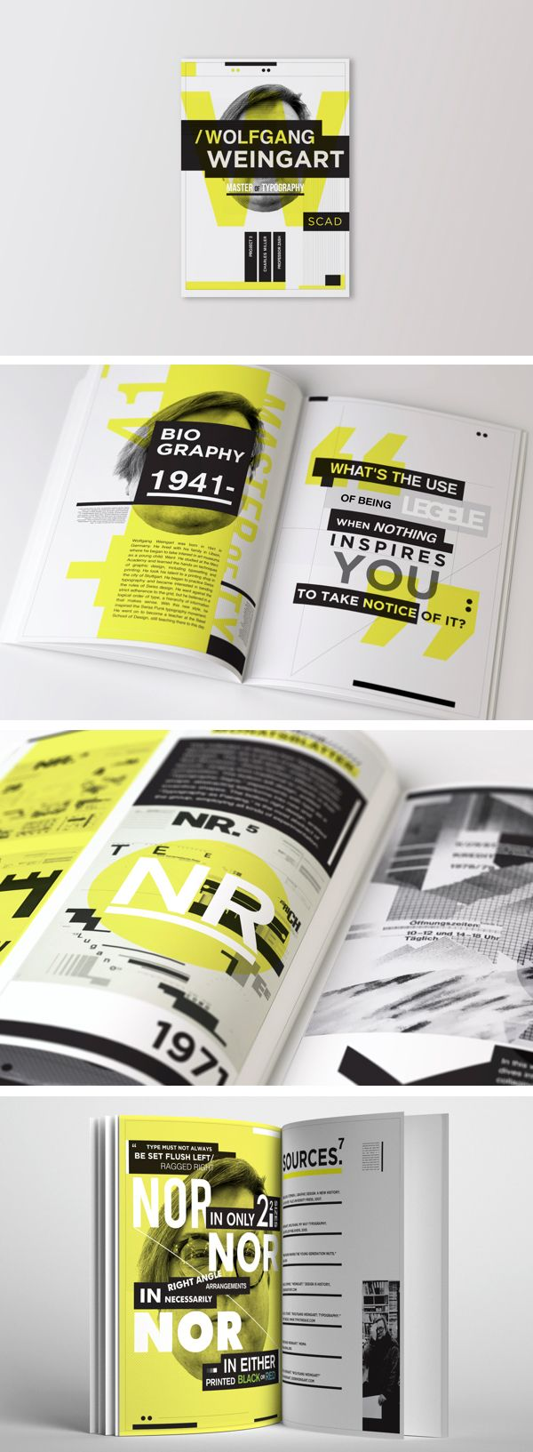 Wolfgang Weingart - Master of Typography by Charles Miller