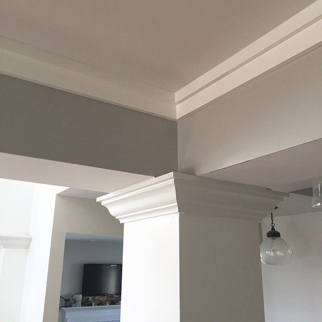 how to cut 45 degree crown molding flat