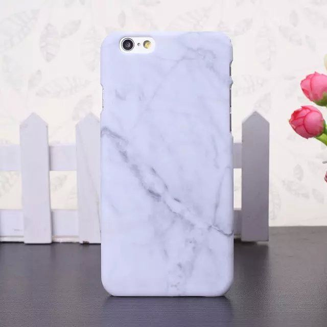 Marbled effect iPhone Case Lightweight slim case, provides protection with no…