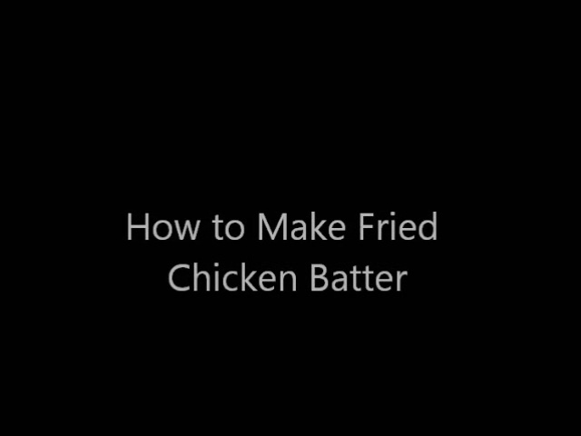 Simple Fried Chicken Recipe for Easter Sunday Menu - Best Southern Fried Chicken
