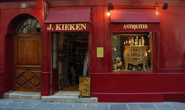 Ile Saint Louis, Paris: Stores Front, Window Shops, Antique Shops, Shops Window, Little Shops, Fleas Brocante Marketing Shops, Boutiques Shops, Antiques Shops, Shops Front