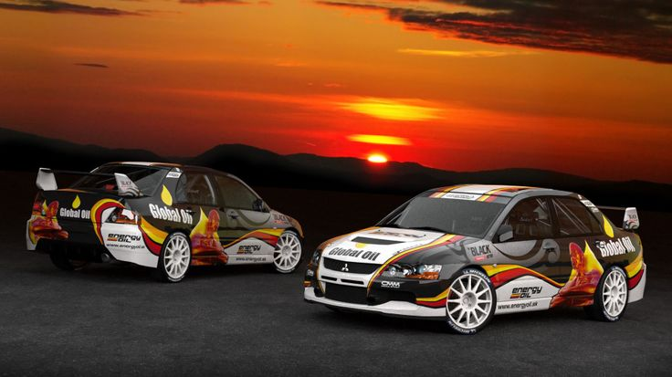 Srnka Motorsport - Mitsubishi Lancer Evo IX - design and wrap.