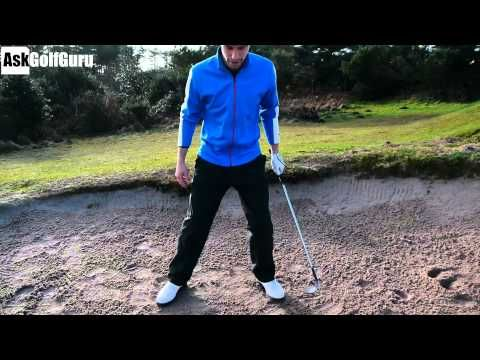 ▶ How To Play A High Bunker Shot With Stop - YouTube