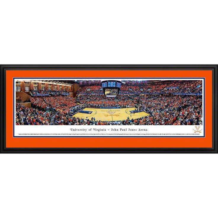 Worldwide Blakeway Panoramas 'Virginia Basketball' Framed Print