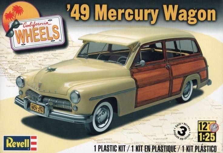 REVELL-MONOGRAM 4996 - 1:25 1949 Mercury Wagon