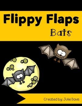 Bats Flippy Flaps!This is a great way to get your students learning about bats in a fun hands-on interactive way! Your students will be engaged and learn about bats in many different ways!Activities included:- Bats can/have/are- Label a bat- Life Cycle of a Bat- All About Bats- Bats KWL- Bats Vocabulary- Bat Facts- Favorite Bat Book- Compare Bats & Owl- Compare Bats and Birds- Bat writing prompt- Bat Class GraphGreat way for your kids to be engaged in learning about bats!